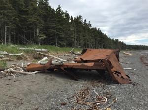 q island shipwreck